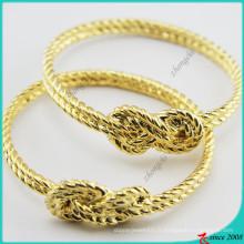 Bracelet de breloques en métal doré pour bijoux fille