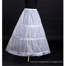 Großhandelsfrauen kleiden weißen Krinoline-Brauthochzeitsspitze-Petticoat