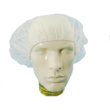 Bonnet Bouffant en filet non tissé jetable