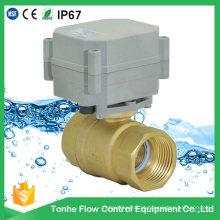 Válvula elétrica motorizada modulante de 4 a 20 mA Válvula elétrica motorizada com controle proporcional de 2 portas