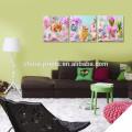 Children Room Decoration Wall Art / Happy Easter Poster / Vente en gros Décoration intérieure Toile Imprimer