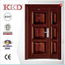 2015 году новые стальные двери KKD-355В одной и половину дверное полотно используется в главной двери