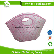 Promotional Shopping PP Laminated Nonwoven Die Cut Bag