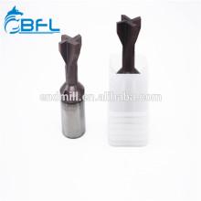 Herramientas de cola de milano de carburo BFL Changzhou End Mill Cutter Bit
