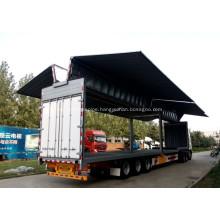 Wings Open Cargo Semi Trailer (Three-axis)
