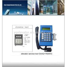Outil de service d'ascenseur GAA21750AK3 outil d'ascenseur, outil de test d'ascenseur
