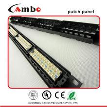 Сделано в Китае Сетевые решения Cat5e / cat6 с разъемами 24/48 Лучшая цена t1 patch panel