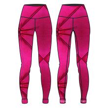 nuevo diseño para mujer yoga pantalones compresión ropa deportiva brillante yoga desgaste