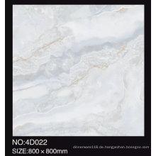 3D Digital Inkjet 600X600mm voll polierten glasierten Marmor Look Glossy Porzellan Bodenfliesen