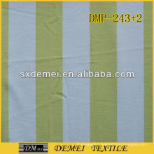 printed striped canvas fabric