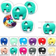 Custom-Made Silicone Teether para Bebê / Infantil / Crianças