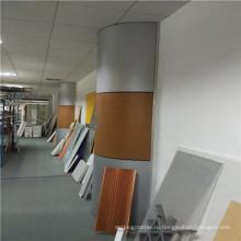 Алюминиевая сотовая панель для покрытия колонн