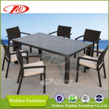 Outdoor Wicker Table and Chair (DH-6123)