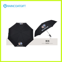 Werbeartikel Auto Open und Close 3 Fold Umbrella