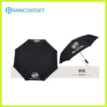 Promotional Auto Open and Close 3 Fold Umbrella
