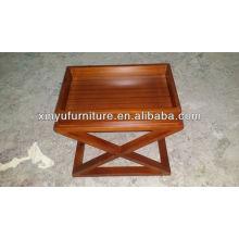Estantería de madera del dormitorio del hotel XY0825