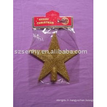 Glittter Tree Top Stars Cheap christmas decorations sale