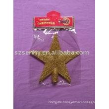 Glittter Tree top Stars Cheap christmas decorations sale