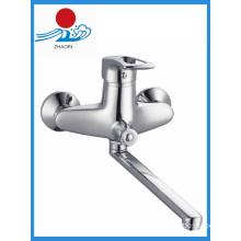 Brass Chrome Kitchen Faucet Single Handle Water Tap Mixer (ZR21103-A)