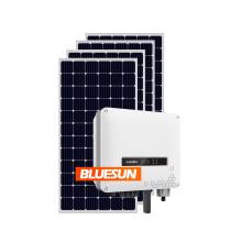 Bluesun solar system 5kw 8kw 10kw grid tie solar system solar on grid power system 10kw for home