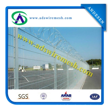 High Security Airport Welded Wire Mesh Fence