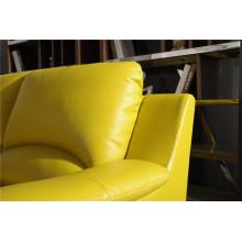 Canapé salon avec canapé moderne en cuir véritable (421)