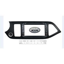 Navegación del GPS DVD del coche de KIA Picanto 2015 con 4.4