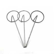 """150 New 6"""" Garden Stakes Round Pins Commercial Sod Staples"""