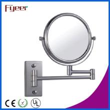 Fyeer Wandmontierte doppelte seitliche faltbare Make-up-Spiegel (M0548)
