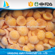 best quality new frozen iqf yellow peach