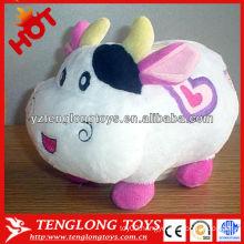 wholesale cartoon cow money pot plush money box