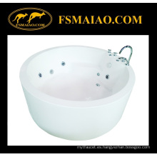 Bañera de pie de acrílico popular del baño con el grifo (BA-8206B)