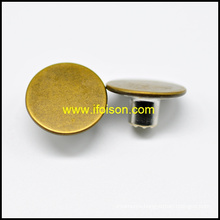 Classic Brass Jeans Button for Trousers