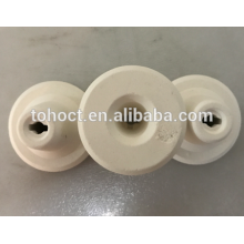 Ceramic cuplock 70%/ 80%/ 85% Al2O3 alumina 10% POROSITY 5% water absorbtion