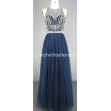 Lindo Beading Long Prom Dress Atacado