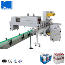 Automatic Hot Shrink Wrapping Machine for Beverage Bottle
