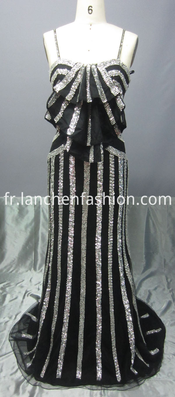 Floor Length Sequin Dresses