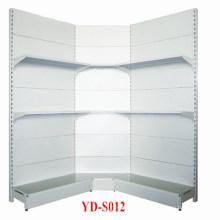 Supermarkt Single Outward Metal Corner Shelf