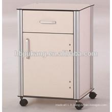 Cabinet de lit phénolique D-13 pour hôpital