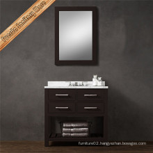 Fed-1988 Waterproof 36inch Solid Wood Bathroom Vanity Cabinet