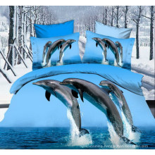Hot Sale 3D Disperse Printed Microfiber Fabric for Bedsheet
