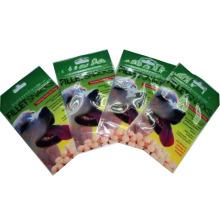 Saco plástico do alimento para cães / saco de alumínio dos alimentos para animais de estimação