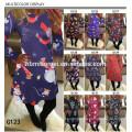 2017 Novo Design de Moda Senhoras de Roupas de Natal Vestido Diário Das Mulheres Casuais