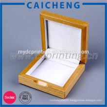 Luxurious Unfinished Wood Jewelry Box