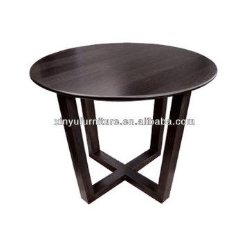 Round wooden restaurant furniture XT7002