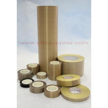 Vidrio tela silicona PSA cinta recubierta de PTFE