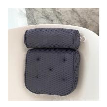 white sustainable  non-slip comfortable adjustable infant cushion siliconeDIY PVC foam Spa Bath Pillow