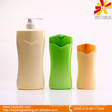 kinds of capacity plastic shampoo bottle packaging