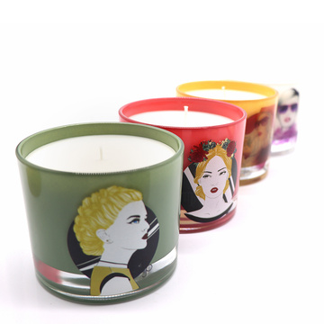 Jar Candle Scent Jar Candle Luxury Private Label Soy Wax 향기로운 항아리 캔들