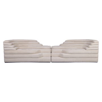 Juego de sofás de sala de estar de lujo moderno icónico